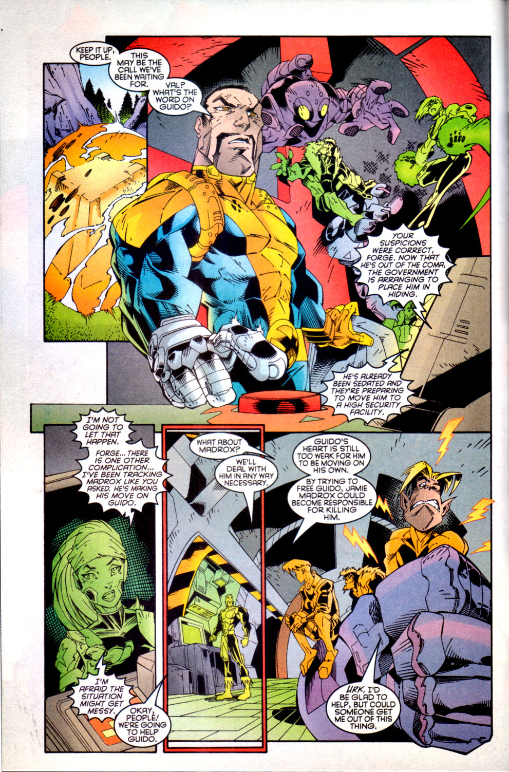Read online X-Factor (1986) comic -  Issue #135 - 6
