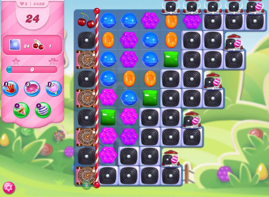 Candy Crush Saga level 4480