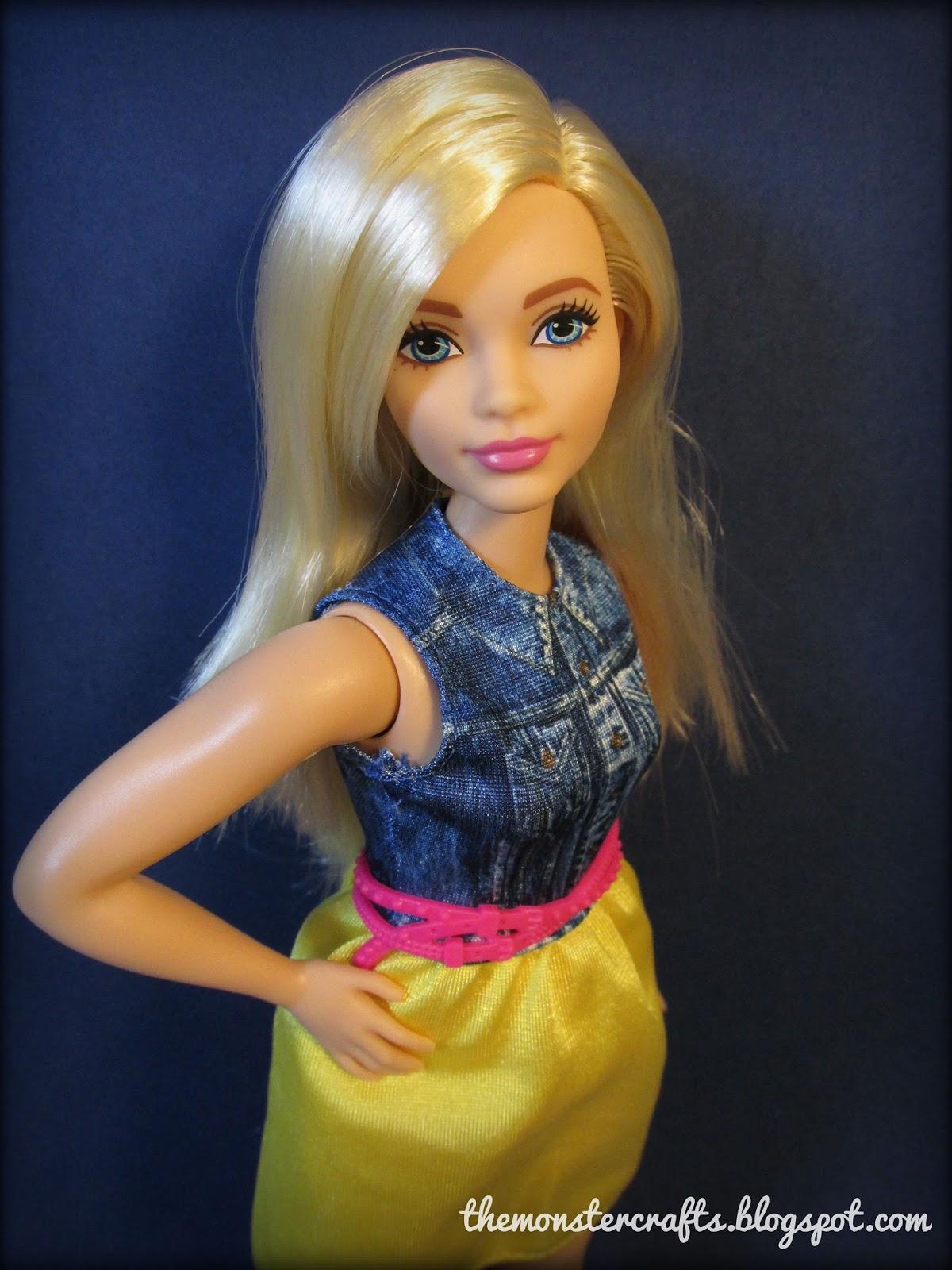 The Fashionomist The Hemline Index: Monster Crafts: Doll Review: Barbie Fashionistas Curvy