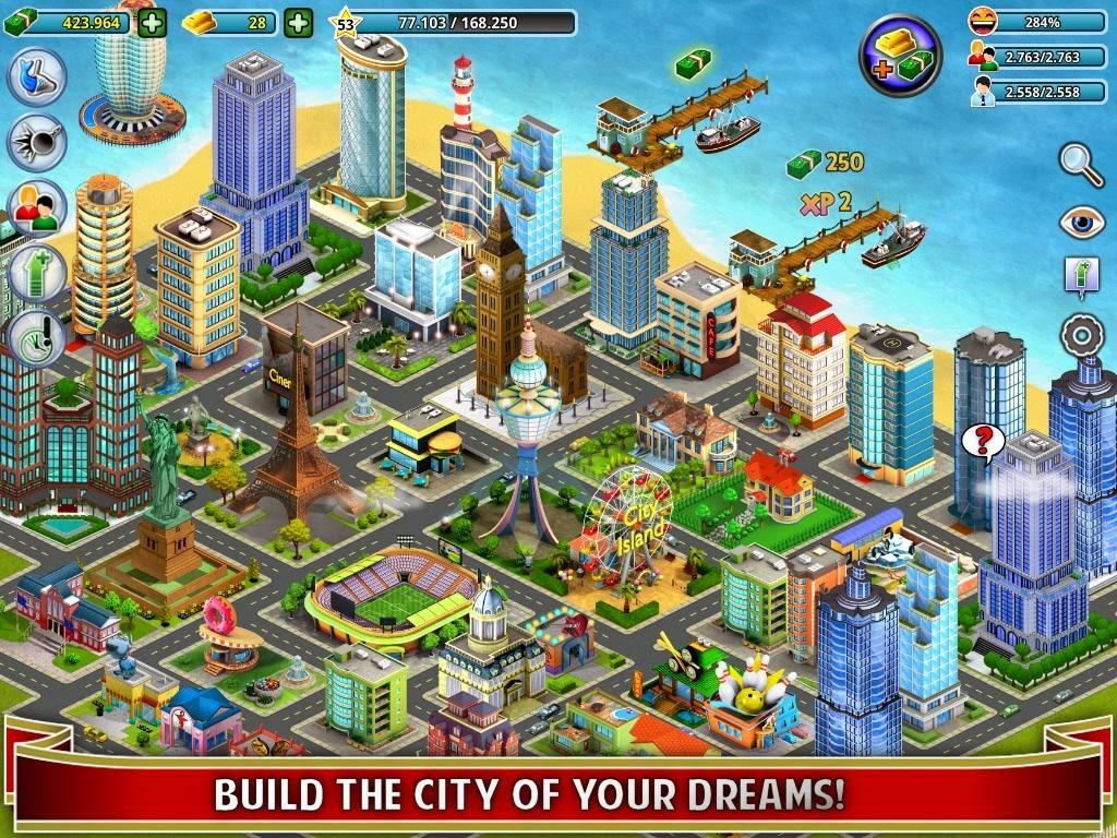 City Island MOD APK v 2.14.4 (Unlimited Golds + Money ...