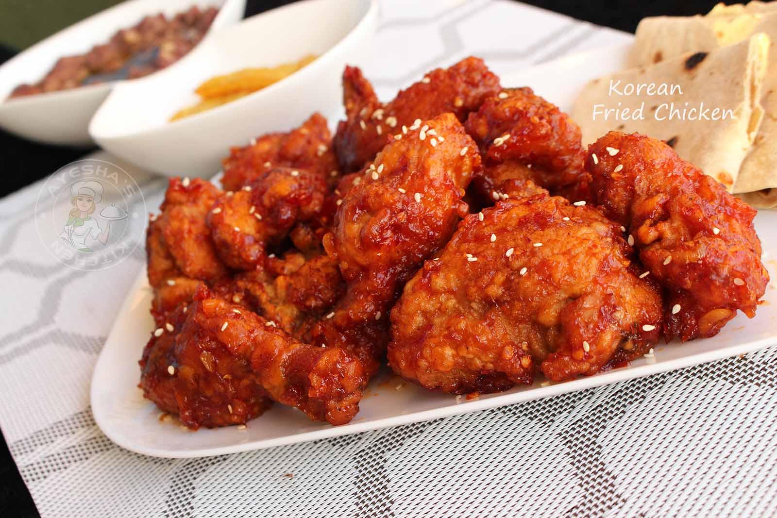BEST FRIED CHICKEN RECIPE - KOREAN FRIED CHICKEN