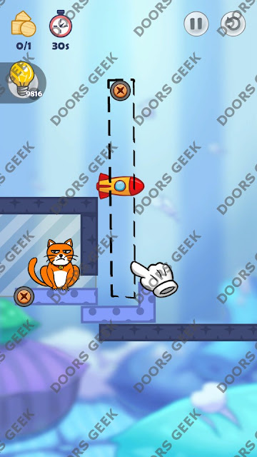 Hello Cats Level 116 Solution, Cheats, Walkthrough 3 Stars for Android and iOS