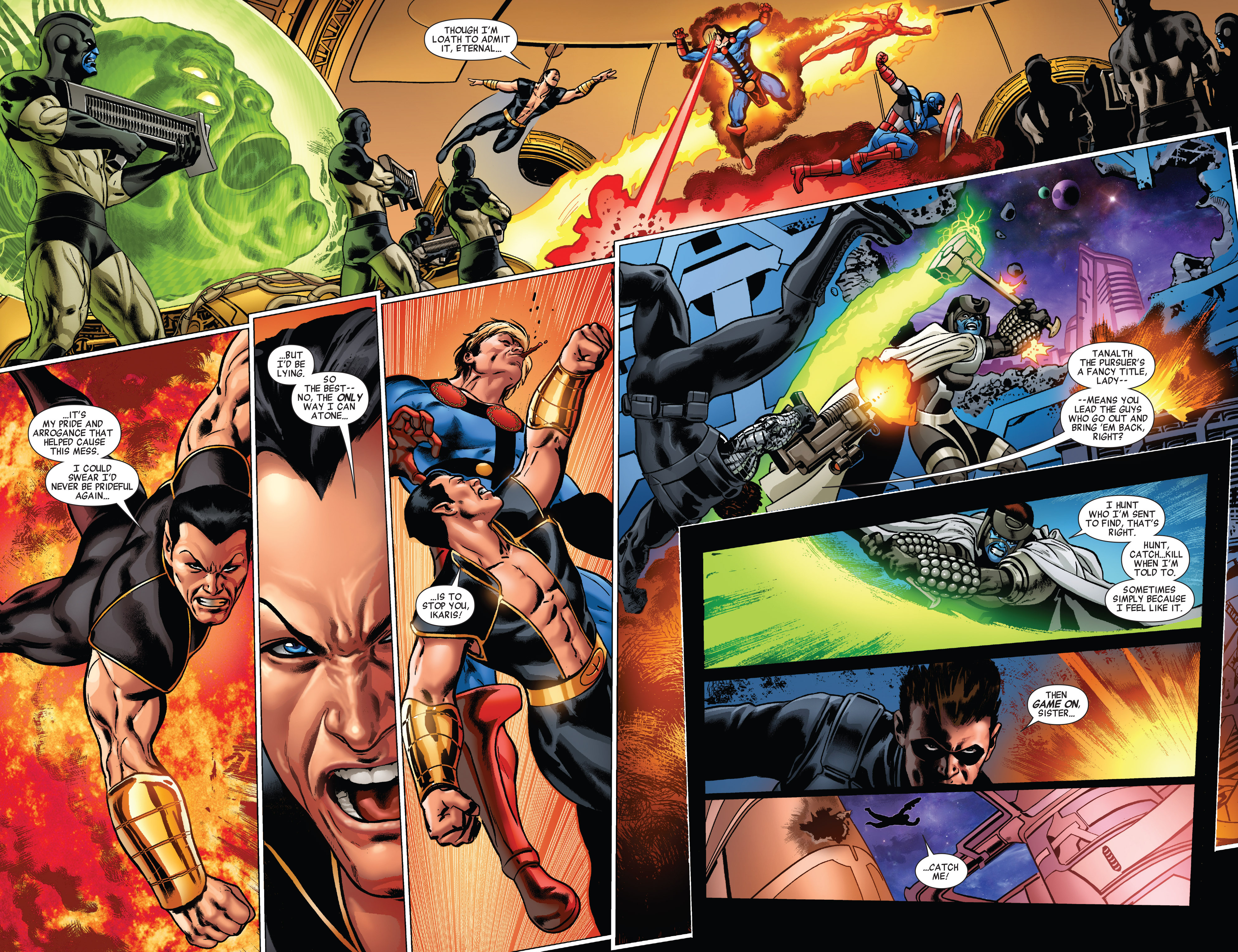 Read online All-New Invaders comic -  Issue #5 - 7