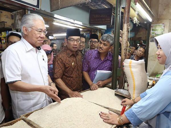 Kunjungan Menteri Perdagangan ke Pasar Kosambi