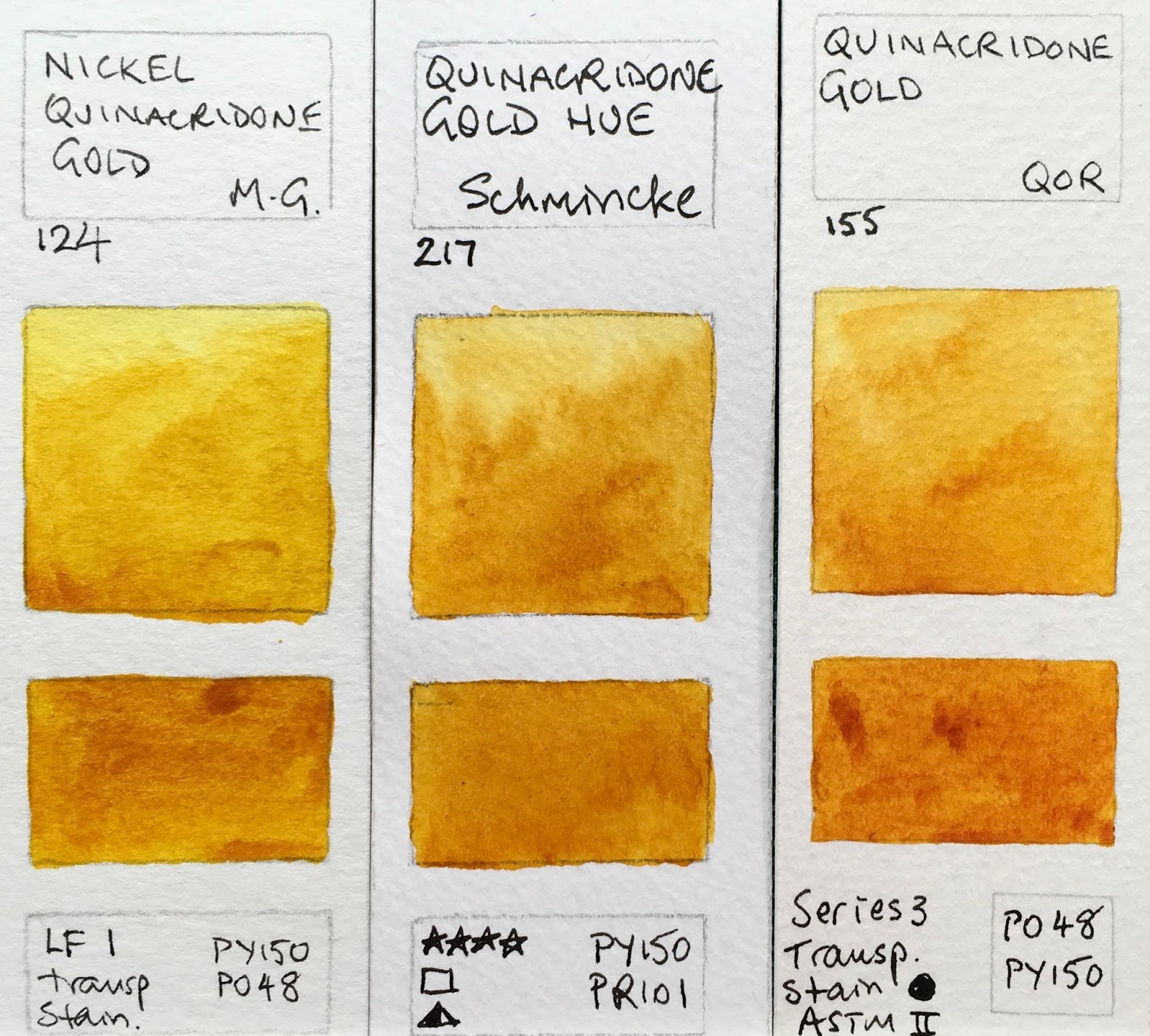 Jane Blundell Artist Quinacridone Gold Hues
