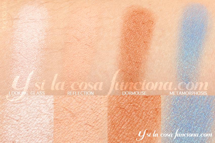 Alice Through the Looking Glass Palette Alice Eyeshadows Ysilacosafunciona