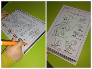 Δραστηριότητες για παιδιά προσχολικής ηλικίας.