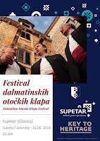 Festival otočkih klapa - Supetar slike otok Brač Online