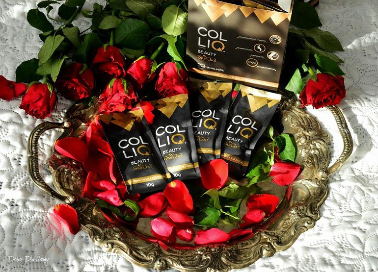 COLLIQ Beauty Skinax2 - naturalny, kolagenowy suplement diety
