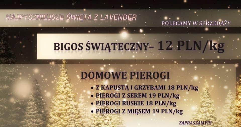 064d7e0b72 Lavender Nowy Tomyśl  Startujemy z nową ofertą świąteczną!