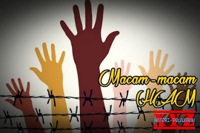 Hak Asasi Manusia, HAM, Macam-macam, Jenis-jenis. | www.materi-pelajaran.xyz