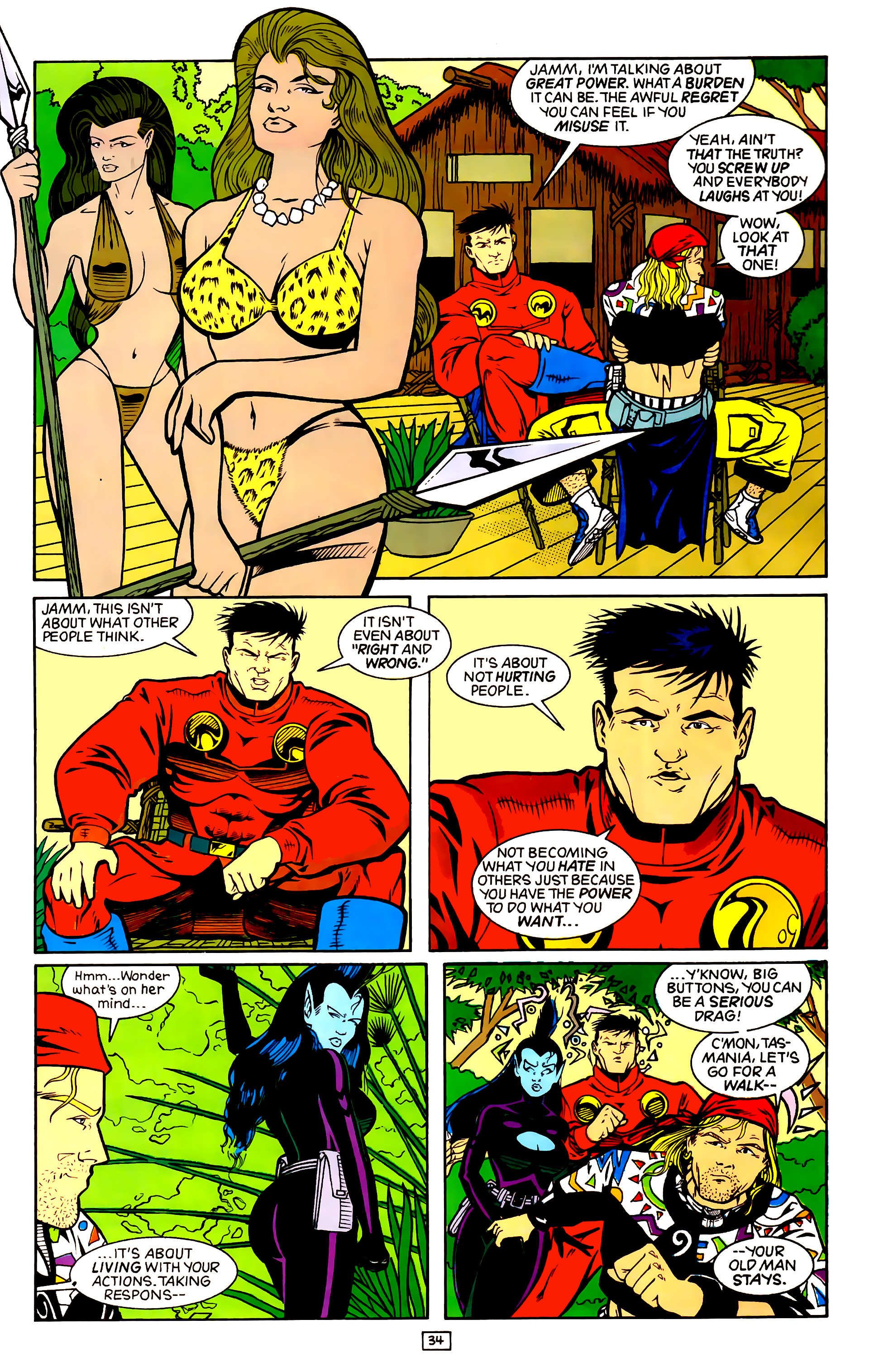 Legion of Super-Heroes (1989) _Annual_4 Page 34
