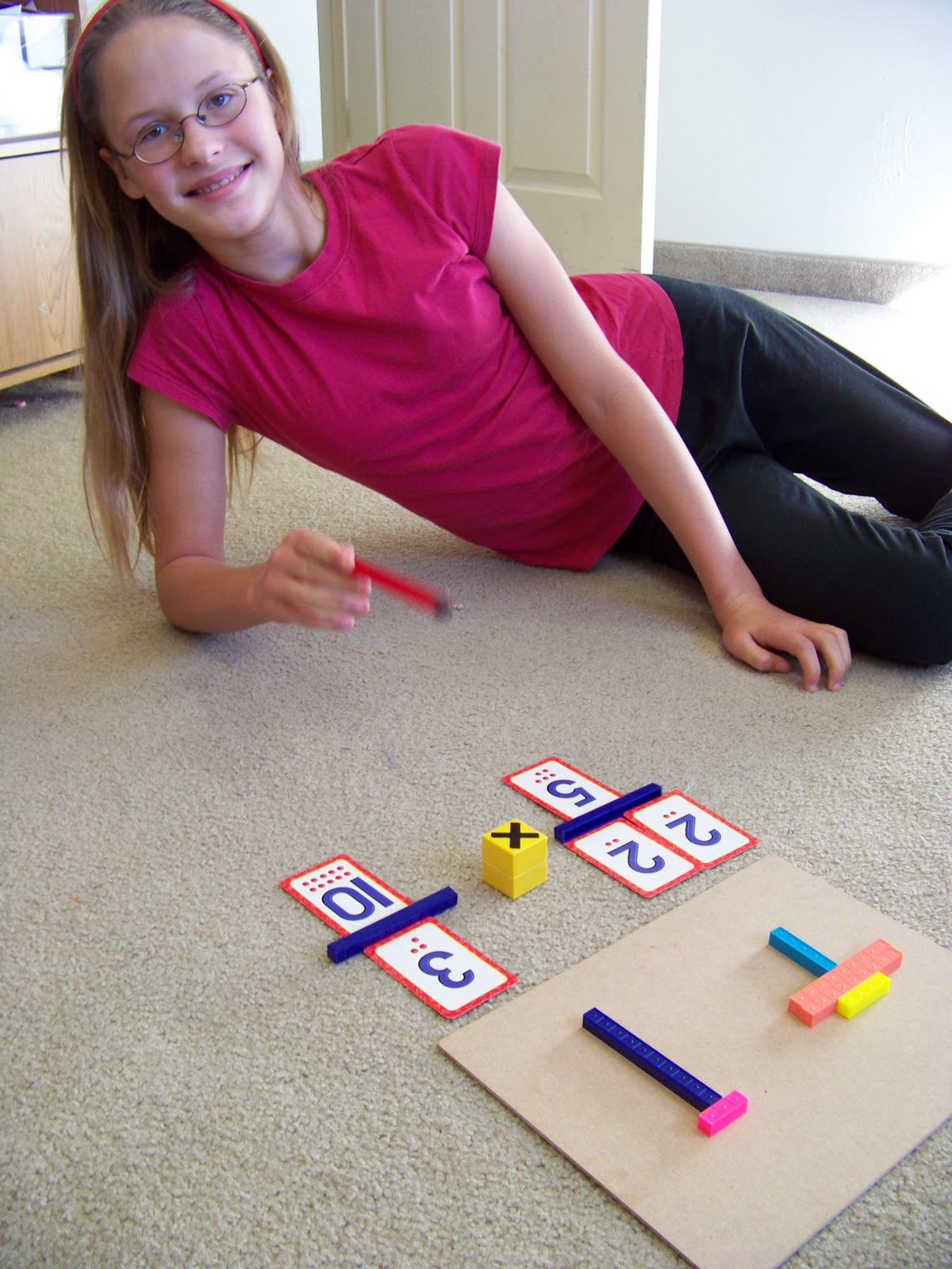 Our Fun Homeschool Zapping Fractions Division Math