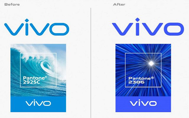 Vivo redesigns its logo, with changes in font and and brand color