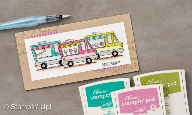 Tasty Trucks,Stampin' Up!