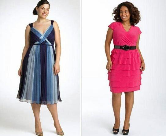 Dicas de moda festa para Plus Size (Gordinhas) - Fotos e modelos