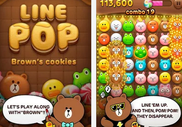 LINE POP APK / APP Download,好玩的 LINE 遊戲推薦下載,Android APP