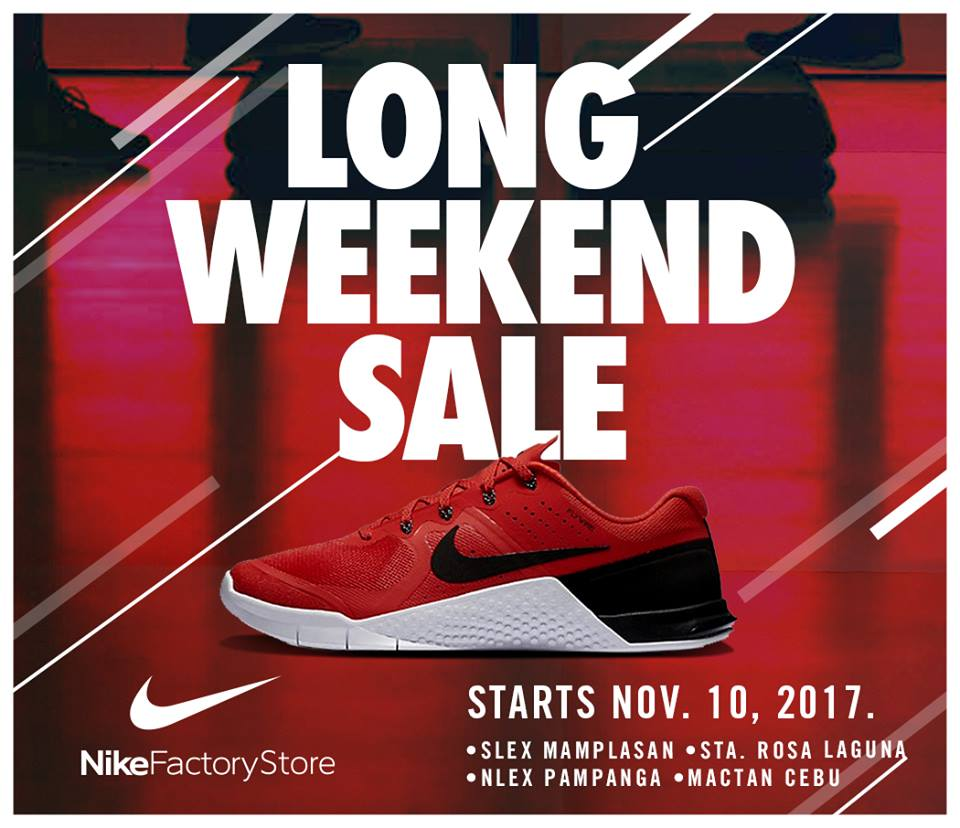2b8a99b9bfdf The Nike Factory Outlet Store Long Weekend SALE happens on November 10-19