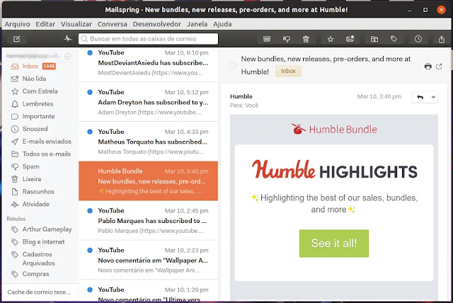 interface-cliente-email-mailspring-tema