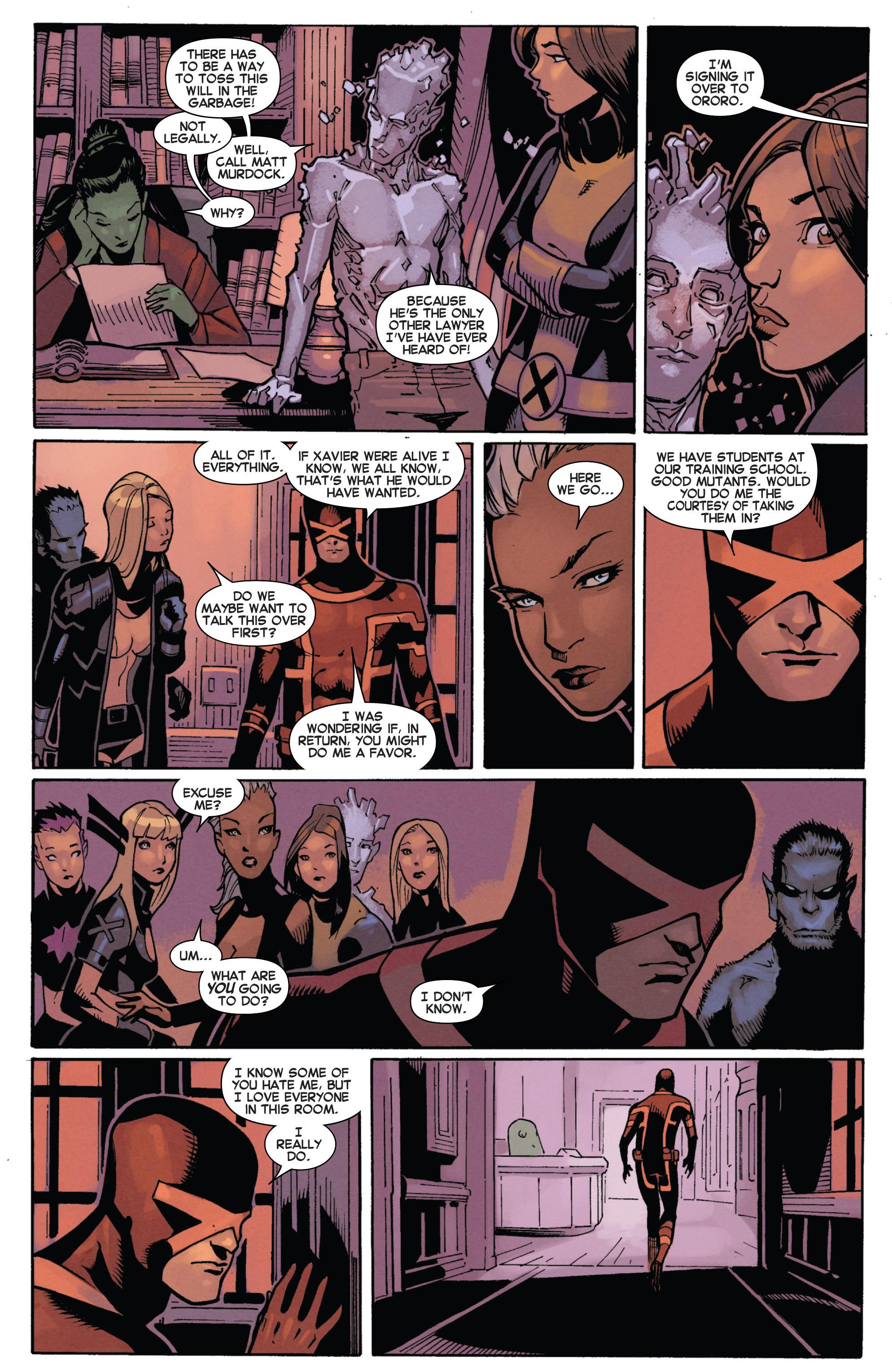 Read online Uncanny X-Men (2013) comic -  Issue # _TPB 5 - The Omega Mutant - 111