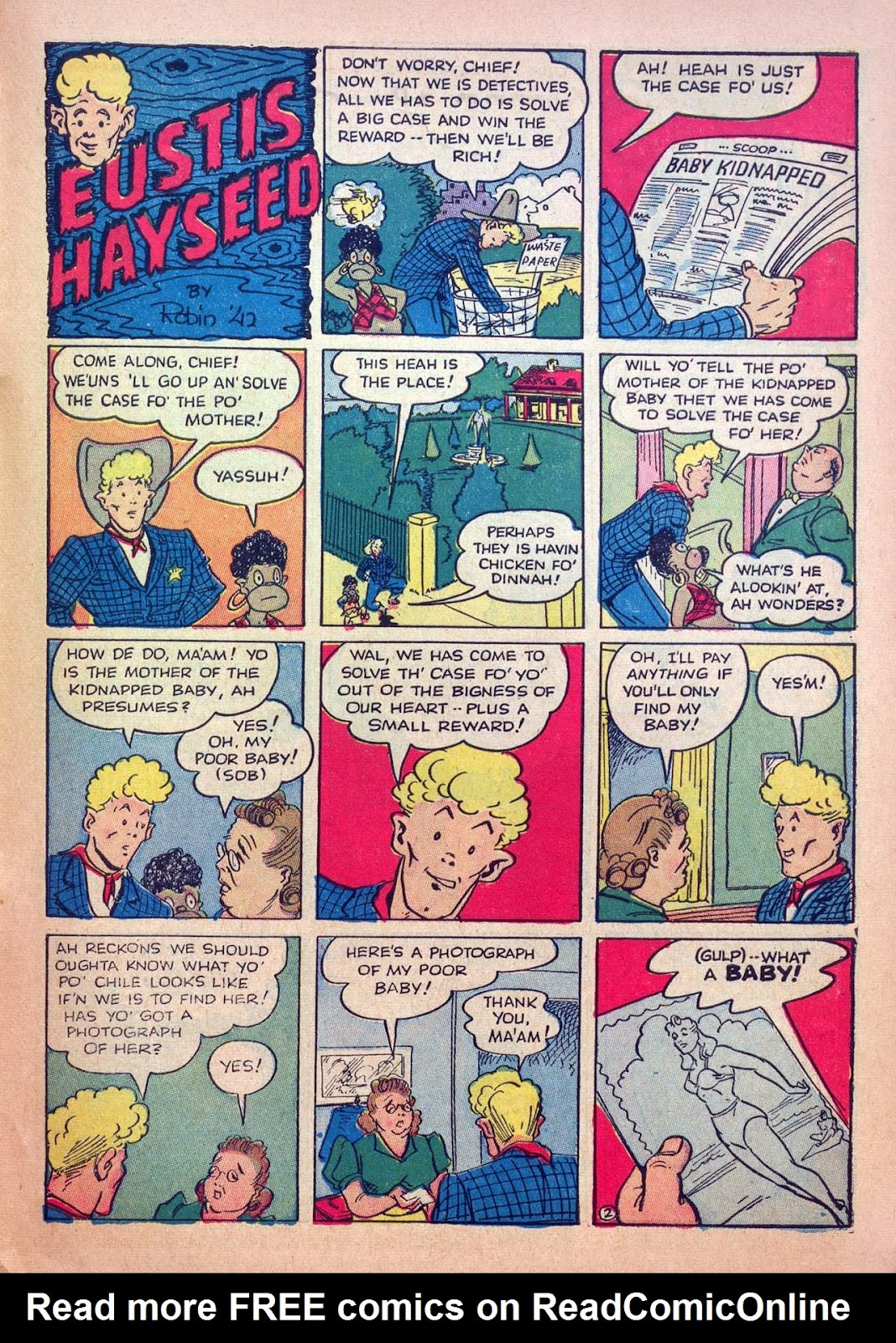 Read online Joker Comics comic -  Issue #4 - 53