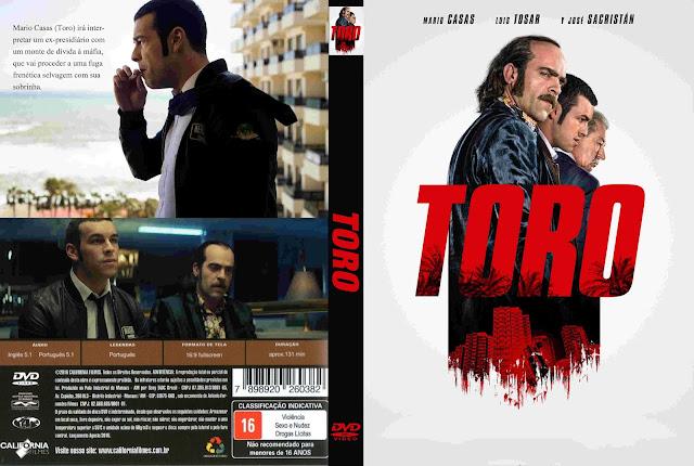Capa DVD Toro