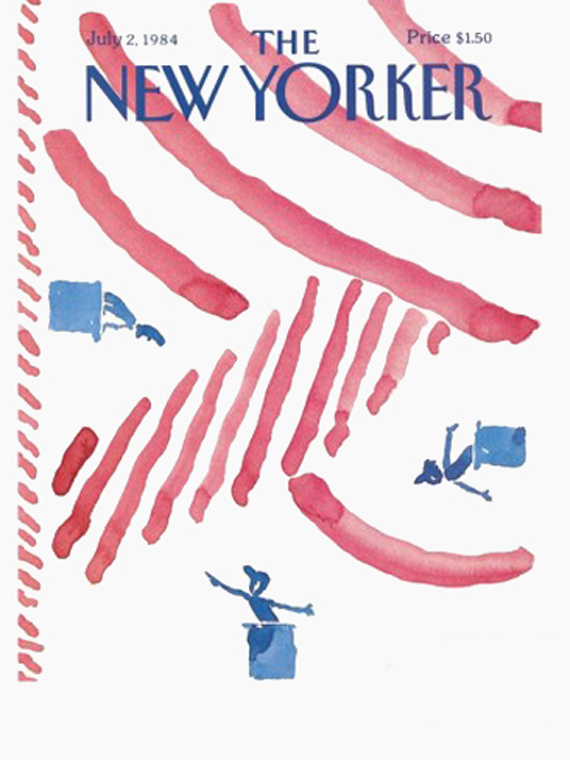 the new yorker vintage 4th july magazine covers, 1984