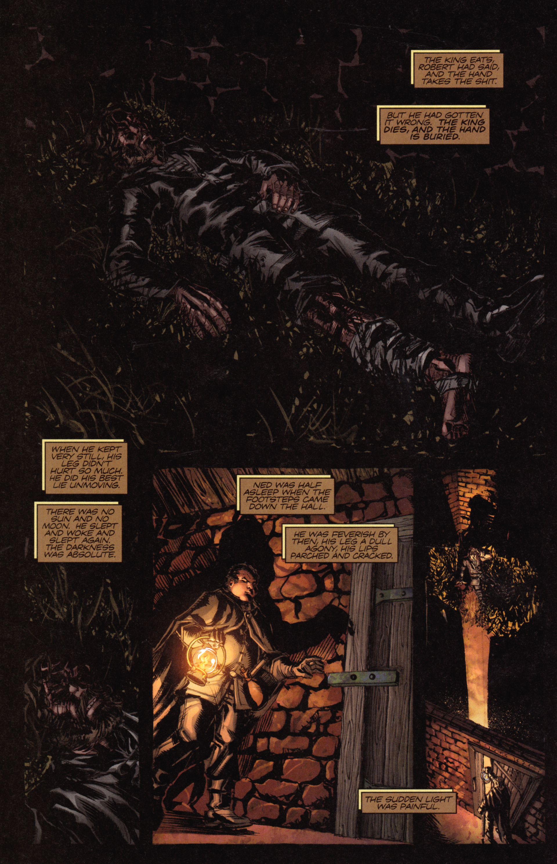 Read online A Game Of Thrones comic -  Issue #18 - 24