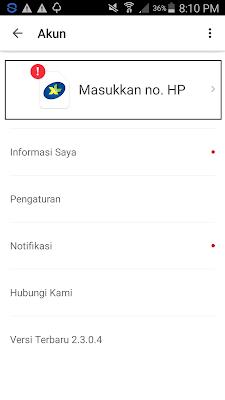 cara daftaar nomor hp di aplikasi cashtree