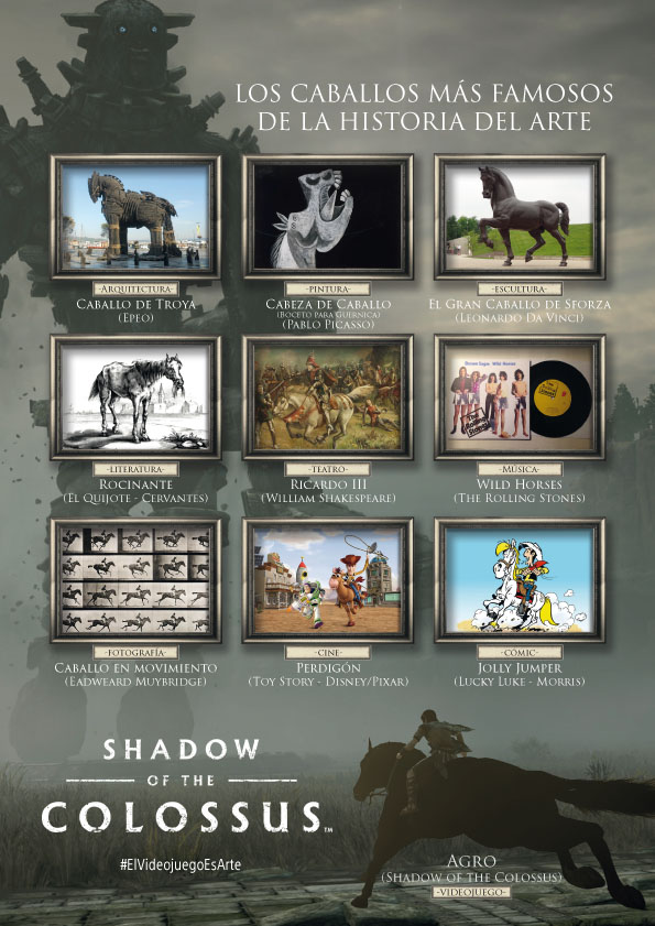 Los caballos mas iconicos del mundo del arte según PlayStation