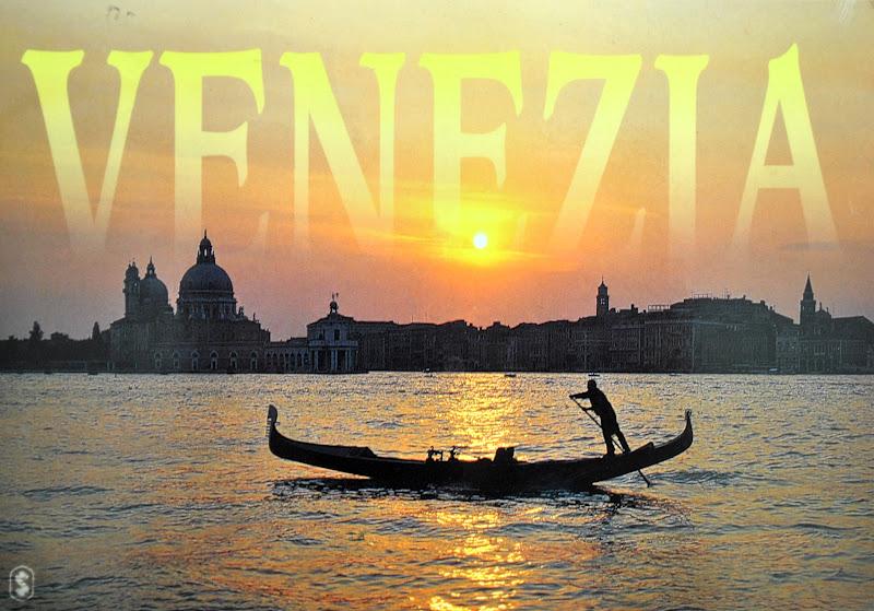 Zachód slońca nad Wenecją