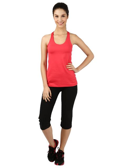 Model Baju Senam Tank Top Pink Online Murah