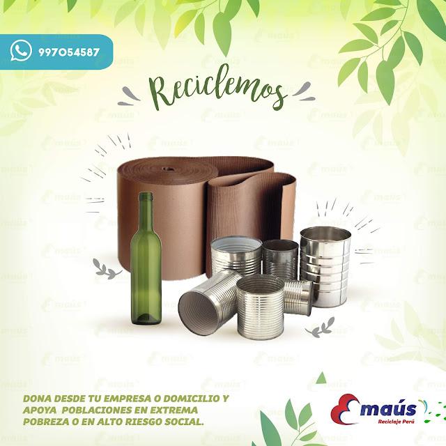 Reciclemos con Emaús Reciclaje Perú