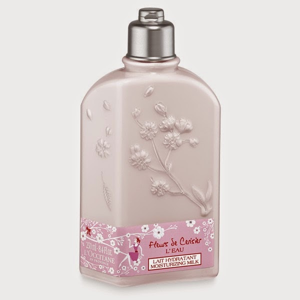 L'Occitane en Provence's Limited-Edition Fleurs de Cerisier L'Eau Moisturizing Milk.jpeg