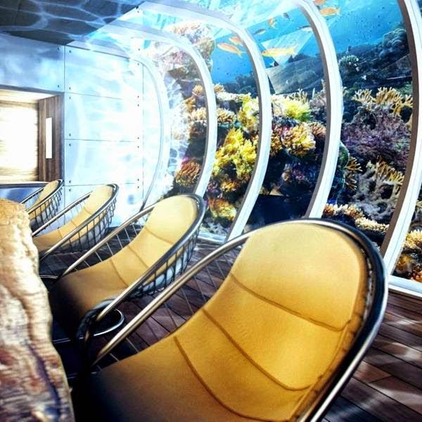 A Hotel Under Water In Dubai 6