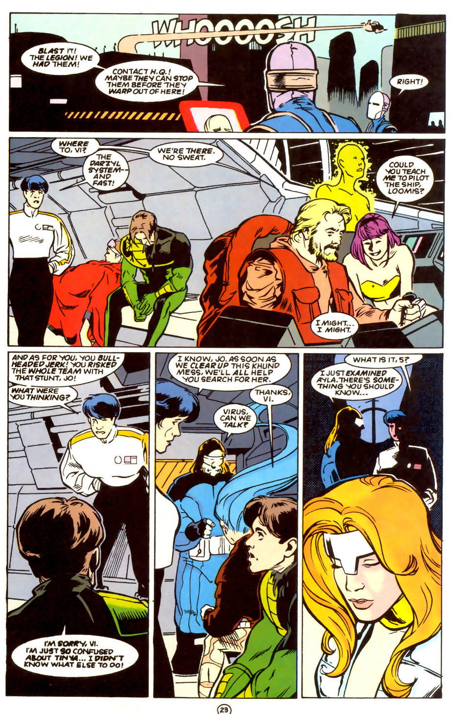 Legion of Super-Heroes (1989) 56 Page 23