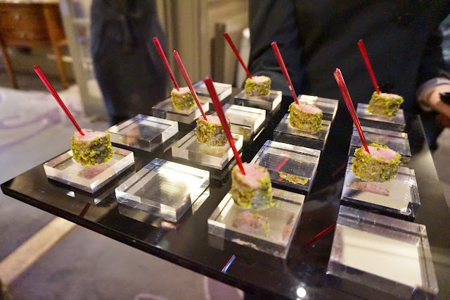 Dine Venues The Mansion Leeds canapes