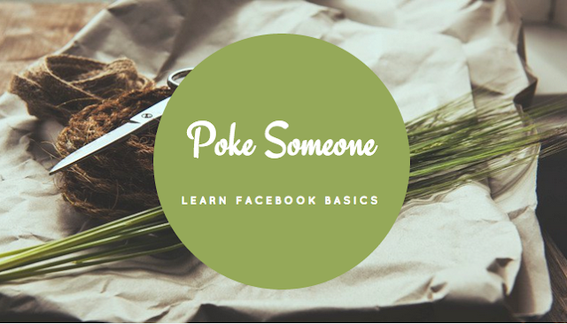 How to poke someone on Facebook?