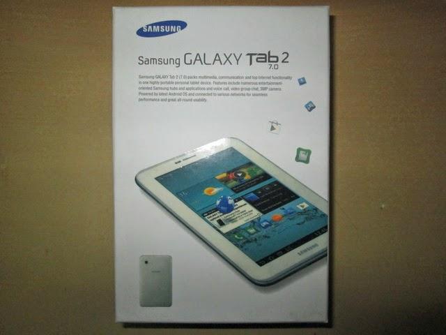 """Dus Samsung Galaxy Tab 2 7"""" Bekas Layak Pake"""