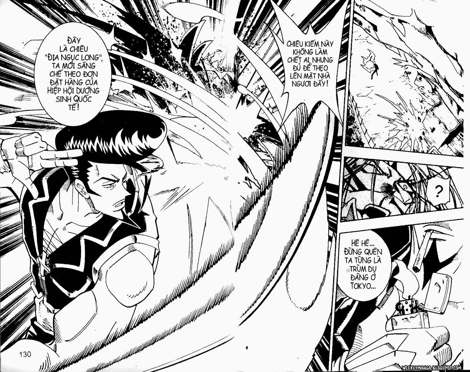 Shaman King [Vua pháp thuật] chap 97 trang 10