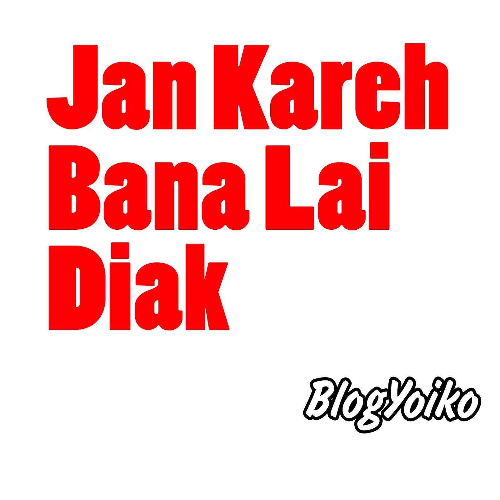 DP BBM Gambar Kata Lucu Bahasa Minang Terbaru  Blog Yoiko