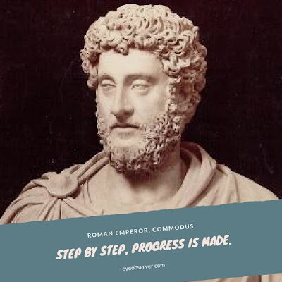 Progress quotes - Commodus