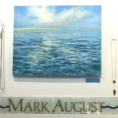 Original oil painting by Whitney Heavey at Mark August in downtown Chatham on Cape Cod