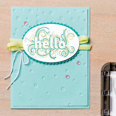 Stampin' Up! Ready to Layer stamp set, 2018-2019 Annual Catalog