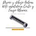 Diseño y dibujo Antena Wifi repetidora Corto y Largo Alcance