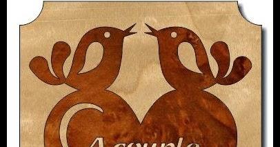 Scrollsaw Workshop Valentine Love Birds Scroll Saw Pattern