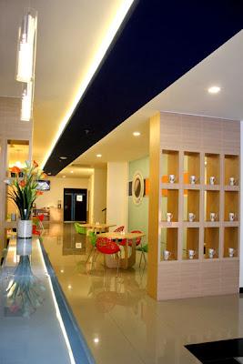 Zodiak Hotel @Paskal Bandung dari Dalam