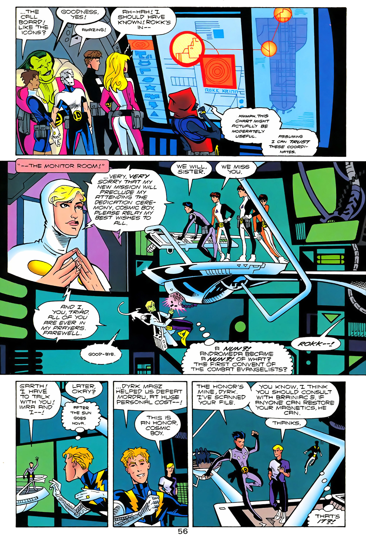 Legion of Super-Heroes (1989) 100 Page 50