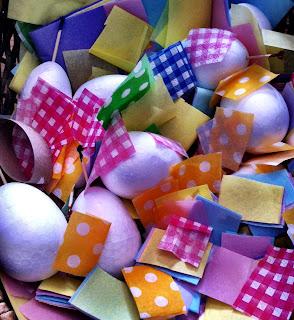 PÂQUES: Comment faire des oeufs avec des serviettes de table?