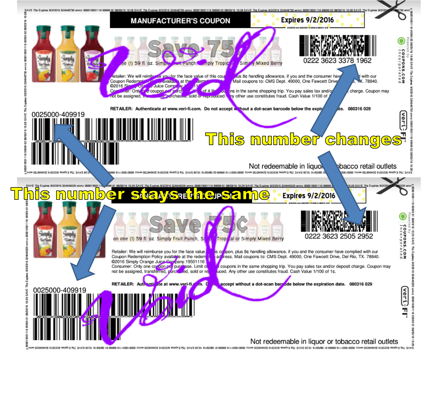 Coupon Rules | The Crazy Shopping Cart